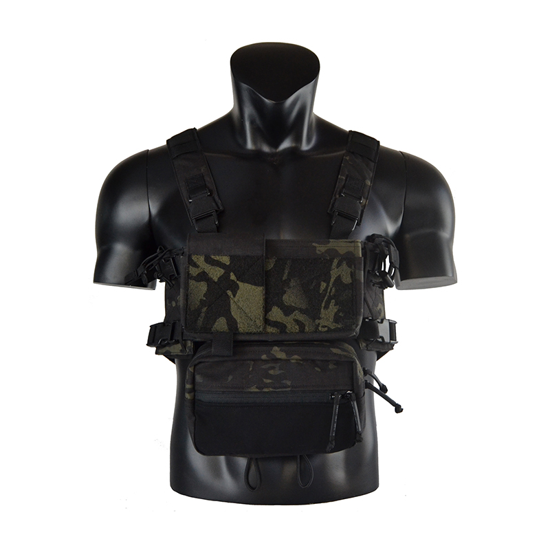 Chassis MK3 Mini Tactical Chest Rig Airsoft Hunting Vest Ranger Green Military Tactical Vest W/ Mag Pouch TW-CR02/CR03
