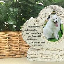 Памятный камень для домашних животных, щенок, надгробный камень, сувенир для домашних животных, памятник для сада, памятник для домашних животных, памятный камень для домашних животных, товары для домашних животных Z925