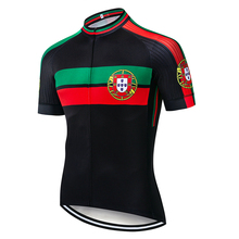 Men Portugal Cycling Jersey 2020 Short Sleeve MTB Road Bike Jersey Breathable Comfortable Bicycle Clothing cheap Polyester PT-2020MS Spring summer Jerseys Full Zipper Anti-Pilling Anti-Shrink Quick Dry Anti-sweat Pockets
