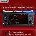 Автомобильный DVD мультимедийный плеер Josmile для BMW E46 M3 Rover 75 Coupe навигация GPS 318/320/325/330 туристический хэтчбек USB бесплатная карта