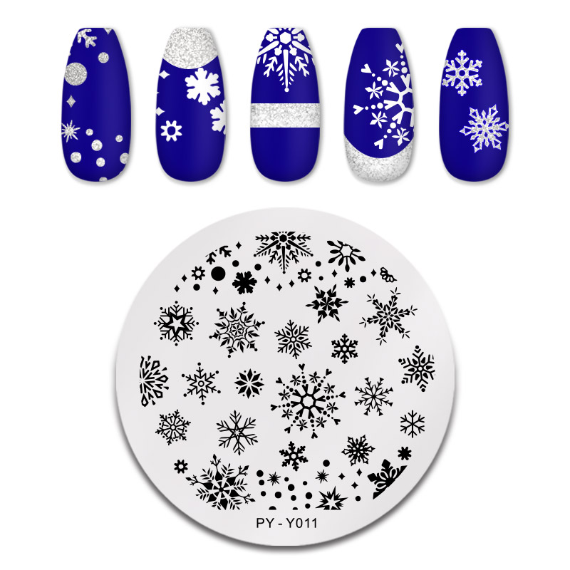 PICT YOU 12*6cm Nail Art Templates Stamping Plate Design Flower Animal Glass Temperature Lace Stamp Templates Plates Image 26