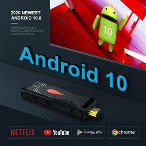 Image 4 - אנדרואיד 10 טלוויזיה מקל X96 S400 Allwinner H313 Quad Core 2GB 16GB חכם טלוויזיה תיבת 4K 60fps h.265 2.4G Wifi Google Media Player Dongle