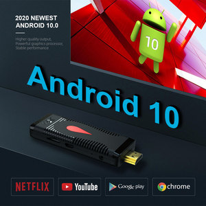 Image 4 - Android 10 TV Stick X96 S400 Allwinner H313 Quad Core 2GB 16GB Smart TV Box 4K 60fps H.265 2.4G Wifi Google Media Player Dongle