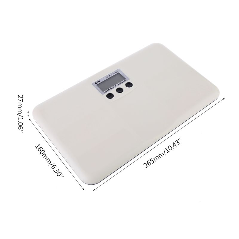 150kg Digital Baby Scale Multifunction Electronic Pet Body Weighing Scales kg lb 72XF