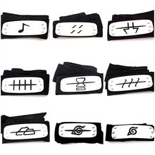 Cool Naruto Forehead Fashionable Guard Headband Cartoon Cosplay Accessories for kits girls naruto headband(China)