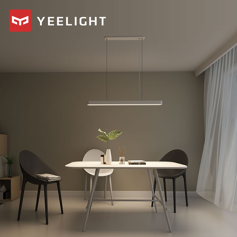 2020 xiaomi mijia YEELIGHT crystal Meteorite LED Smart Dinner Pendant Lights smart Restaurant chandelier work for mi home app|Smart Remote Control| |  - title=