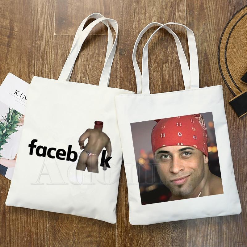 Ricardo Milos Ladie Handbags Cloth Canvas Tote Bag Shopping Travel Women Eco Reusable Shoulder Shopper Bags Bolsas De Tela