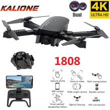 1808 RC Drones 4K Profissional Quadcopter mini drone Wifi FPV quadrocopter with camera Optical flow positioning pocket drone Toy
