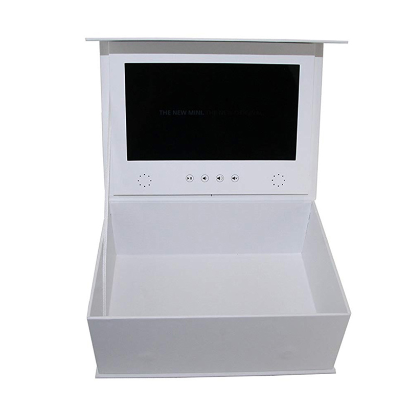Chinese Factory 7 Inch Wedding Invitations Lcd Screen Custom Gift Box Video Display Mask