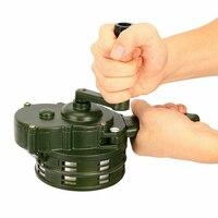 Manivela sirena bocina 110dB alarma de Metal Manual antirrobo seguridad de emergencia EIG88|Botón de alarma de emergencia| |  -