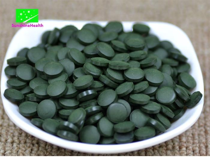 250g-1000g High Quality Natural Spirulina Tablets,Free Shipping