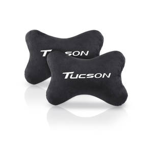 Hot car headrest neck pillow car fit for Hyundai Tucson Car-Styling Badge Accessories