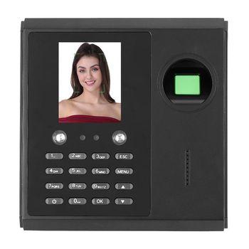 2 8in wyświetlacz TFT czas obecności System zarządzania biometryczny twarzy linii papilarnych rozpoznawanie hasła reconocimiento twarzy tanie i dobre opinie VBESTLIFE Time Recorder System