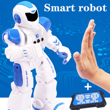 Rc gesto sensor dança robô programável inteligente cantar elétrica controle remoto humanóide educacional robótica brinquedos para meninosRobô RC