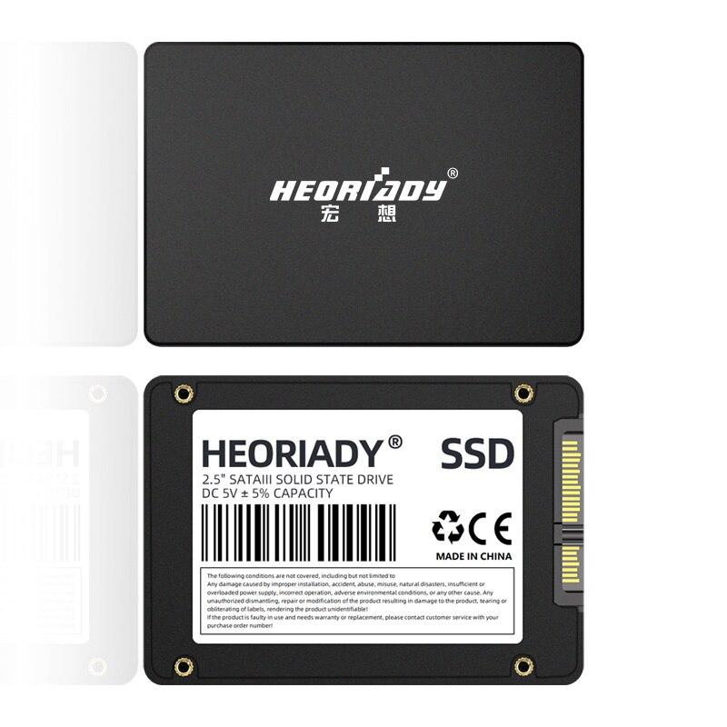 """heoriady SSD 240GB 120GB 480GB 500GB 512GB 1TB 2TB SSD 2.5 Hard Drive Disk Disc Solid State Disks 2.5 """" Internal HDD 128GB 256GB 5"""