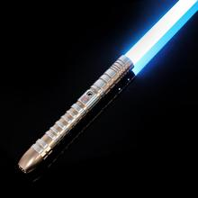 LGT Lightsaber -9 Sets Sound Fonts Metal Hilt Force FX Heavy Dueling Light Saber Infinite Color Changing Sound Volume Adjustment