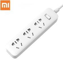 Originele Xiaomi Mijia Power Strip 1.8 M Kabel 3 Extension Socket Power Converter Adapter Mi Stopcontact Basic Versie