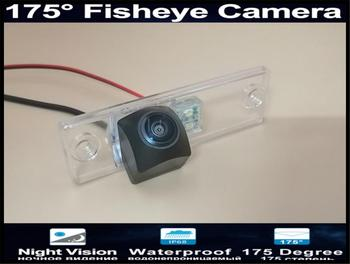 1080P Fisheye 175 Degree MCCD Car Rear view Camera For Toyota Fortuner SW4 2005 2006 2007 2008 2009 2010 2011 2012Reverse Camera image