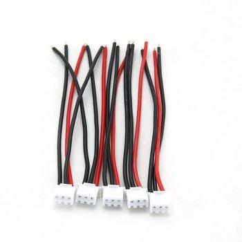 Rc Drone Lipo batterie Balance chargeur 2S 3S 4S 5S 6S 22awg câble Silicone 5 pièces ligne souple 100mm pour lèvres batterie 125*90*4mm ACEHE