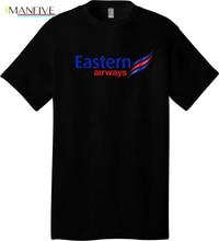 Eastern Airways 1 - a Black T Shirt  Cool Casual pride t shirt men Unisex New Fashion tshirt free shipping tops ajax shirts