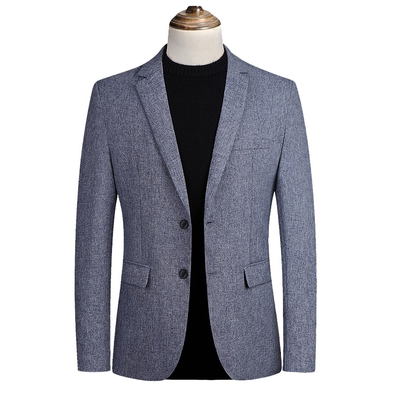 Blazer Men Jackets Breathable Luxury Suit Coat Spring Autumn Formal Party Blazer Masculino Male Casual Slim Fit Suit Jackets 5XL