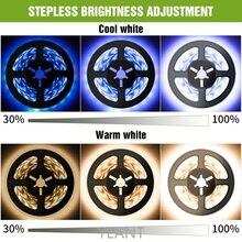 SWT Tape Led Lights Waterproof Battery Connector LED TV For Room Light  LED Strip With Motion Sensor DC5V Cabinet Lamp