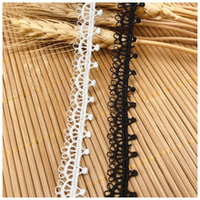 14yards width1.2cm polyester silk embroidery lace ribbon water soluble fabric wedding dress underwer skirt lace accessories DIY