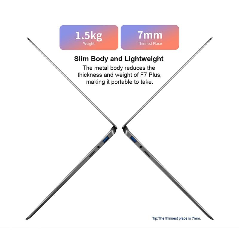"""Teclast F7 Plus 14.1"""" 8GB RAM 256GB SSD Laptop FULL HD 1920 x 1080 Intel Gemini Lake N4100 Windows 10 Backlit Keyboard Notebook"""