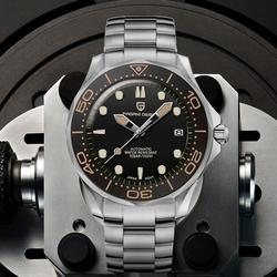 2020 New PAGANI DESIGN 007 Men's Mechanical Watches Brand Luxury Automatic Watch Men Waterproof Wristwatch Japan NH35 Clock man
