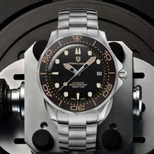 2020 nowy PAGANI projekt 007 męska mechaniczne zegarki marki luksusowy zegarek automatyczny mężczyźni zegarek wodoodporny japonia NH35 zegar człowiek tanie tanio PAGANI DESIGN 10Bar CN (pochodzenie) Składane bezpieczne zapięcie Luxury ru Mechaniczna nakręcana wskazówka Samoczynny naciąg