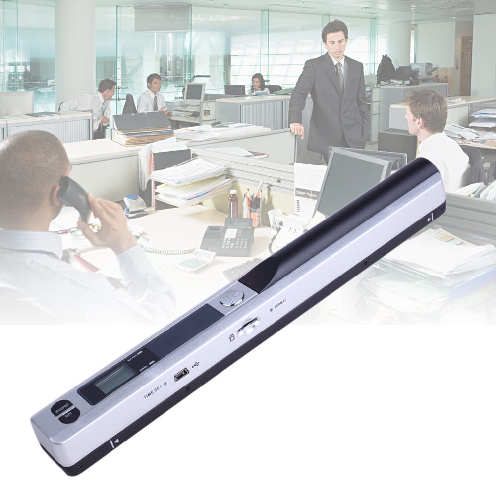 Instant Portable Scanner 900DPI LCD Display For JPG/PDF Format Document Image DQ-Drop