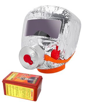 Fire Eacape Face Mask Self-rescue Respirator Gas Smoke Protective Cover Personal Emergency Escape Hood Res - discount item  17% OFF Fire Protection