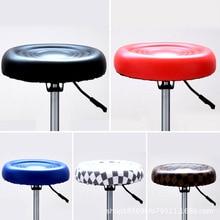 Напрямую от производителя оптовой обработки регулируемый по высоте вращающийся парикмахер красота стул небольшой барный стул Bea