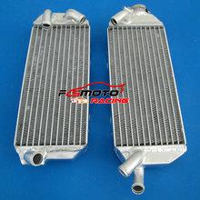 CCM 404 left hand radiator genuine Suzuki DRZ 400
