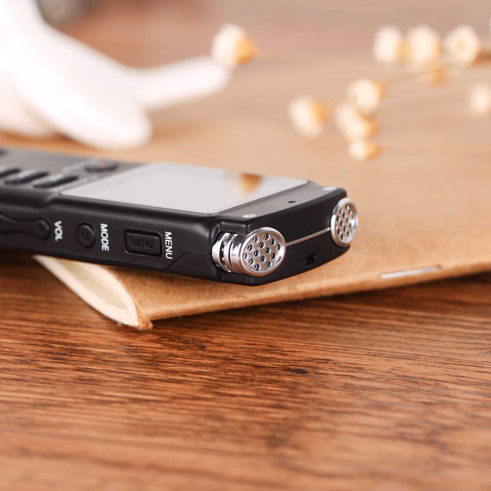 10 шт. 8 ГБ/16 ГБ/32 ГБ перезаряжаемый диктофон USB Профессиональный диктофон цифровой Аудио Диктофон с WAV, mp3-плеер