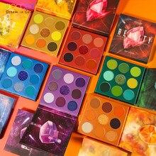 Docolor paleta de sombra de olho 54 cores sombra de olho fosco brilho pigmentado maquiagem sombra de olho pó à prova dwaterproof água cosméticos de olho