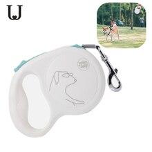 يوبين جوردان جودي حبل جر قابل للسحب 5 متر ميباي قفل اتوماتيكي آمن قابل للسحب 5 متر حبل الكلب 85 كجم بحد اقصى