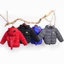 Manboy 2020 детское милое пальто детская верхняя одежда куртка
