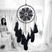 Индийский стиль Ловец снов ручной работы колокольчики подвесной кулон Ловец снов дома стены искусства декоративные подвески