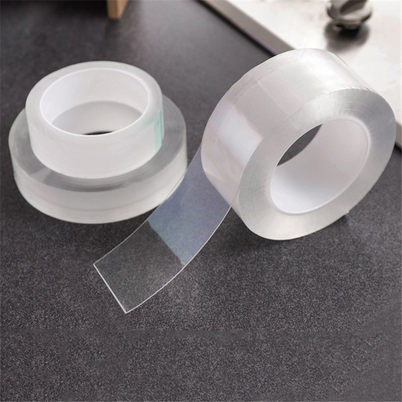 Лента прозрачная для защиты от плесени, самоклеящаяся прочная клейкая лента для защиты от плесени, ванной и кухни
