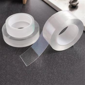 Kitchen Sink Bathroom Gap Strip przezroczysta taśma wodoodporna pleśń samoprzylepna uszczelka wodna mocna taśma samoprzylepna tanie i dobre opinie CN (pochodzenie) Hydraulika PSA14 Żarnik Taśmy Acrylic Glue Transparent Waterproof mildewproof Strong pasteability Strong sealing