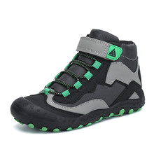 Kids Boots Snow Boots Outdoor Sneakers Boys Boots Girls Boots Leather Ankle Boots Children Boots Sport Flat Shoes Tenis Infantil