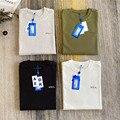 2021ss Adererror T-Shirts Männer Frauen 1:1 Beste Qualität Voll Von Buchstaben Auf Der Rückseite Ader Fehler T Shirt Kleidung