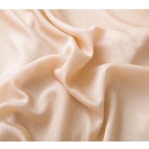 Image 5 - 3 قطعة/الوحدة الإناث طبيعة الحرير الصلبة رقيقة النساء الأساسية نمط مثير داخلية الوردي تحت بانت الراحة الملابس الداخلية LVFAN GT 034