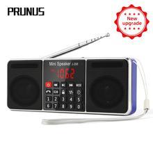 PRUNUS L-288 портативный радиоприемник am fm радио приемник стерео Bluetooth динамик Поддержка TF карты/AUX/u-диск MP3 play USB Перезаряжаемый