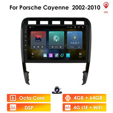 Android 10 Car autoradio navigation For Porsche Cayenne 2002 2010 audio multimedia Stereo WiFi BT tape Recorder 4G LTE 2DIN DSP