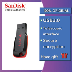 PenDrive USB de 8GB 16GB USB 2,0 32GB 64GB 128GB memoria PenDrive de Sandisk