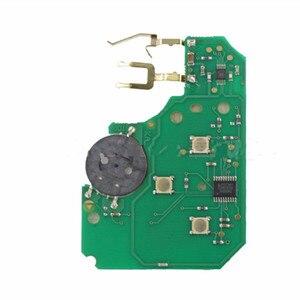 Image 2 - Wilongda araba aksesuarları 3 düğme uzaktan anahtar 433Mhz pcf7926 pcf7947 çip Renault megane 2 Scenic 2 kart araba anahtar
