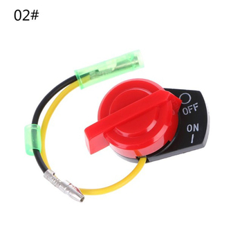 Engine Power Stop On Off Kill Switch Control 1/2 Wires For Honda GX110 GX120 GX160 GX200 Small Engine Outdoor Power Equipment image