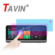 TAVIN 3G/4G Car DVR 2 Dual Lens Camera GPS 8 Inch Android 5.1 Bluetooth FHD 1080P WIFI Video Recorder Dash Cam Registrar Monitor все цены